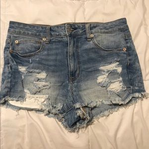 SOLD: American Eagle Cut-Off Jean Shorts